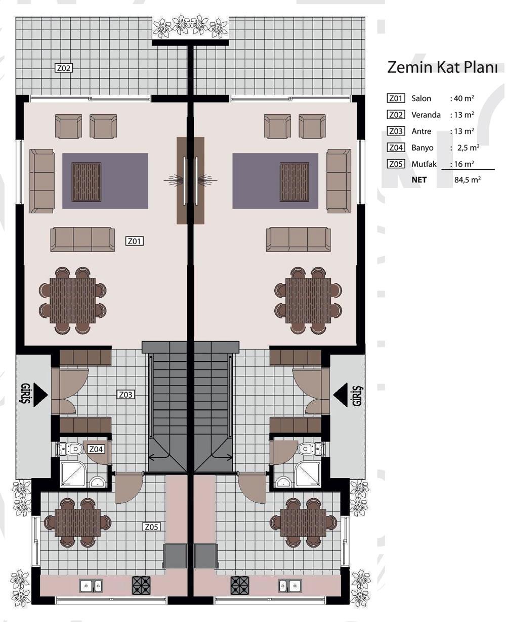 Zemin Kat Planı